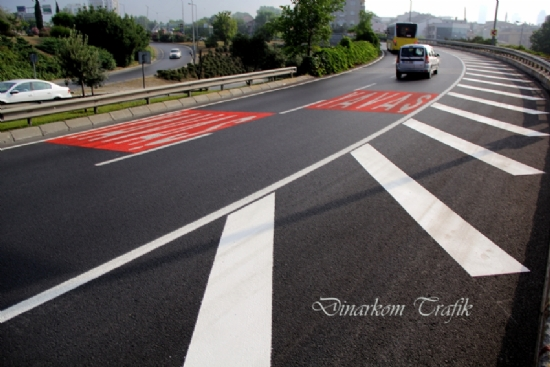 Double Component Road Line Applications